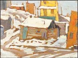 village-in-winter